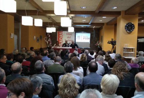 El PSOE del Alto Aragón se reúne en las Vilas del Turbón