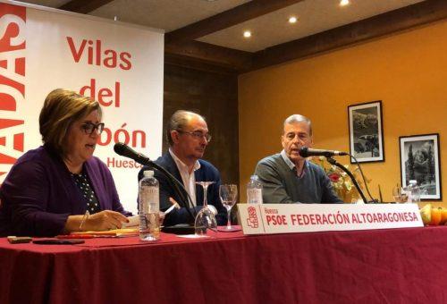La despoblación y las trabas administrativas, principales preocupaciones de los socialistas altoaragoneses