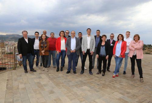 El PSOE de Fraga presenta una candidatura totalmente renovada y con el reto de transformar la ciudad para convertirla en referente de la zona oriental de Aragón