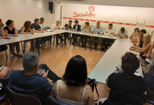 El PSOE del Alto Aragón propone a sus 13 candidatos para la Diputación Provincial de Huesca