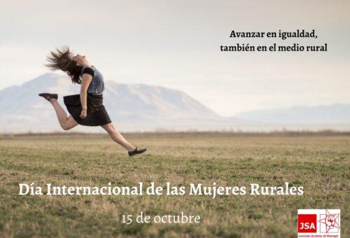 Juventudes Socialistas del Alto Aragón reclama un Estatuto de las Mujeres Rurales en Aragón