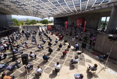 Huesca, escenario de un acto sobre Reto Demográfico enmarcado en el trabajo previo al 40 Congreso del PSOE