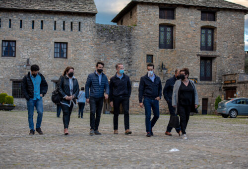 Ánder Gil pone en valor el potencial turístico de la provincia de Huesca como elemento esencial para la recuperación económica