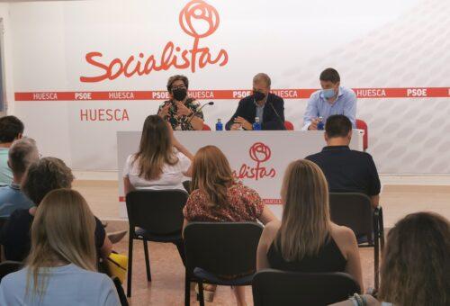 El PSOE Alto Aragón exige diálogo real con el territorio  para negociar todas las medidas que afecten a sus habitantes