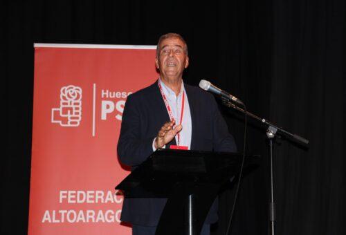 Antonio Cosculluela no se presentará a la reelección como Secretario General del PSOE Alto Aragón